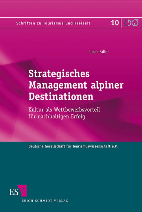 Strategisches Management alpiner Destinationen cover