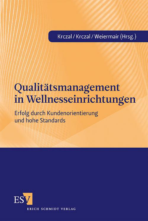 Qualitätsmanagement in Wellnesseinrichtungen cover