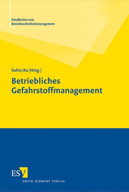 Betriebliches Gefahrstoffmanagement cover