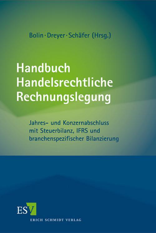 Handbuch Handelsrechtliche Rechnungslegung cover