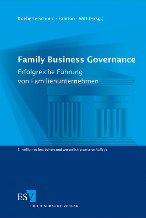 Family Business Governance cover