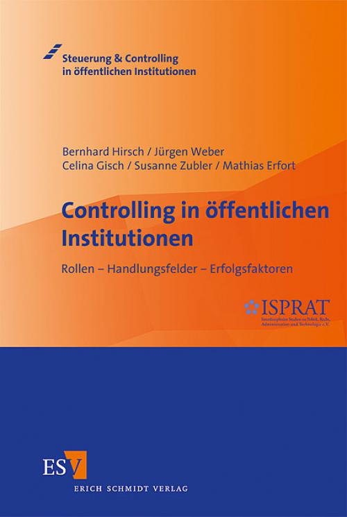 Controlling in öffentlichen Institutionen cover
