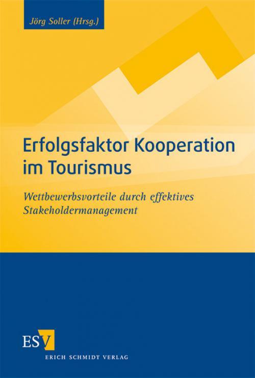Erfolgsfaktor Kooperation im Tourismus cover