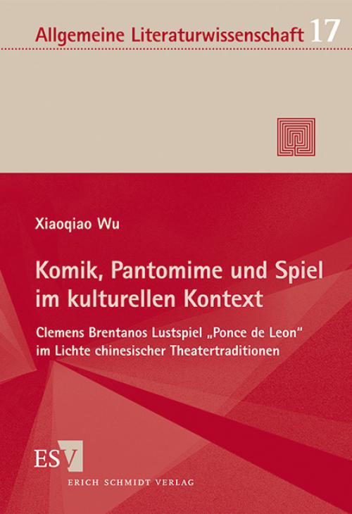 Komik, Pantomime und Spiel im kulturellen Kontext cover