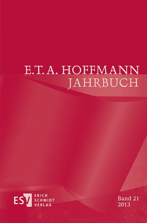 E.T.A. Hoffmann-Jahrbuch 2013 cover