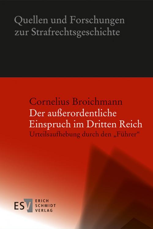Der außerordentliche Einspruch im Dritten Reich cover