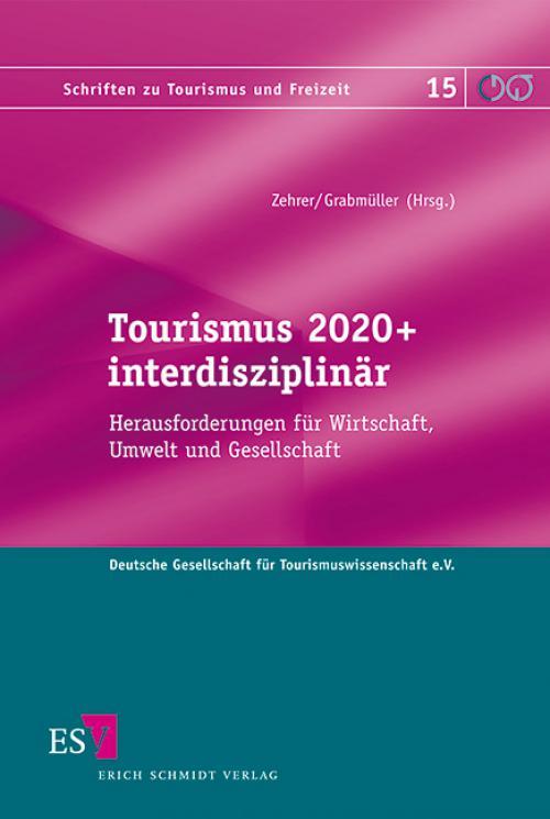 Tourismus 2020+ interdisziplinär cover
