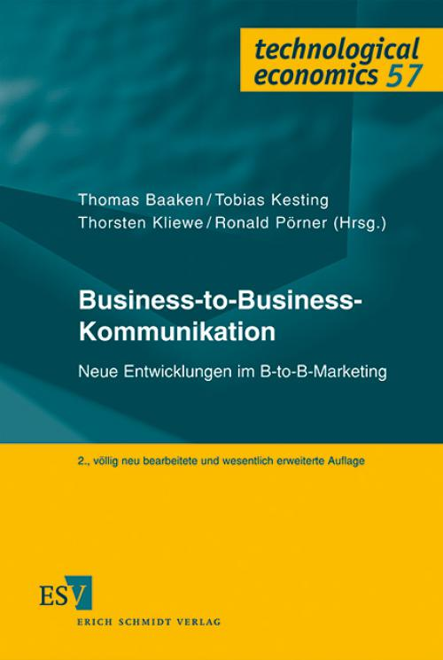 Business-to-Business-Kommunikation cover