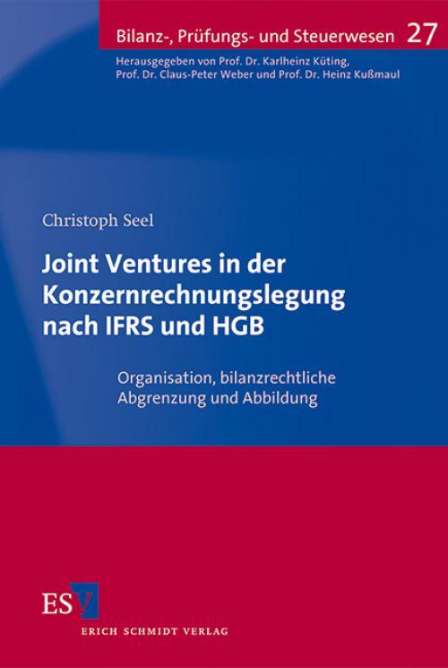 Joint Ventures in der Konzernrechnungslegung nach IFRS und HGB cover