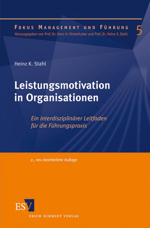 Leistungsmotivation in Organisationen cover