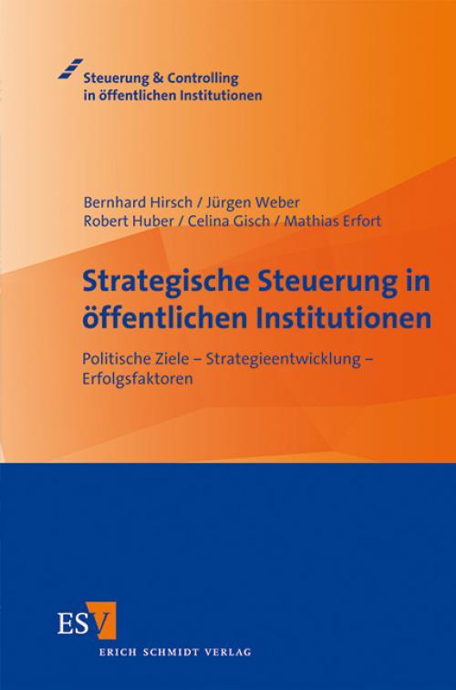 Strategische Steuerung in öffentlichen Institutionen cover