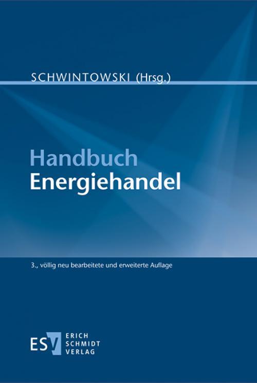 Handbuch Energiehandel cover