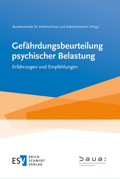 Gefährdungsbeurteilung psychischer Belastung cover