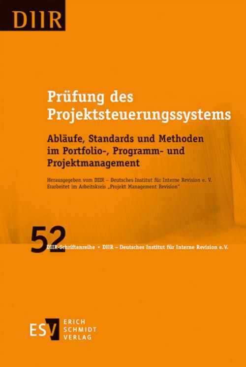 Prüfung des Projektsteuerungssystems cover