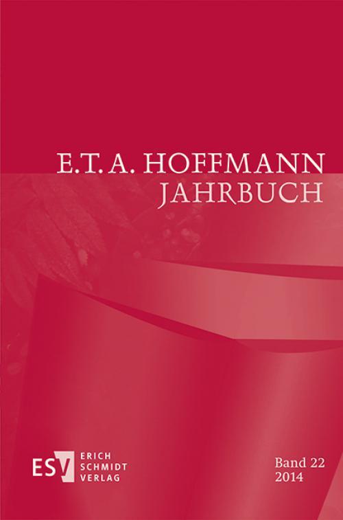 E.T.A. Hoffmann-Jahrbuch 2014 cover