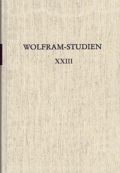 Wolfram-Studien XXIII cover