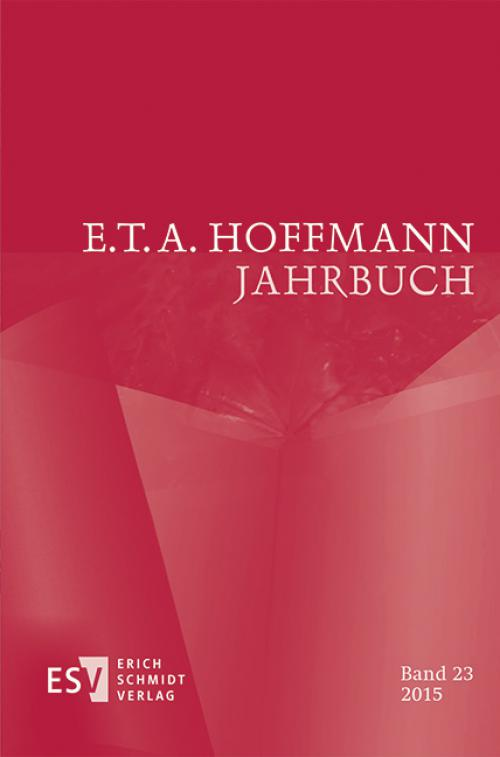 E.T.A. Hoffmann-Jahrbuch 2015 cover