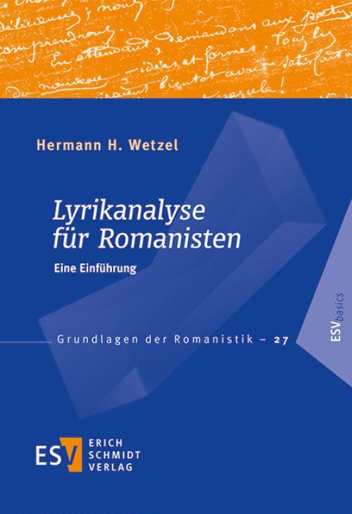 Lyrikanalyse für Romanisten cover