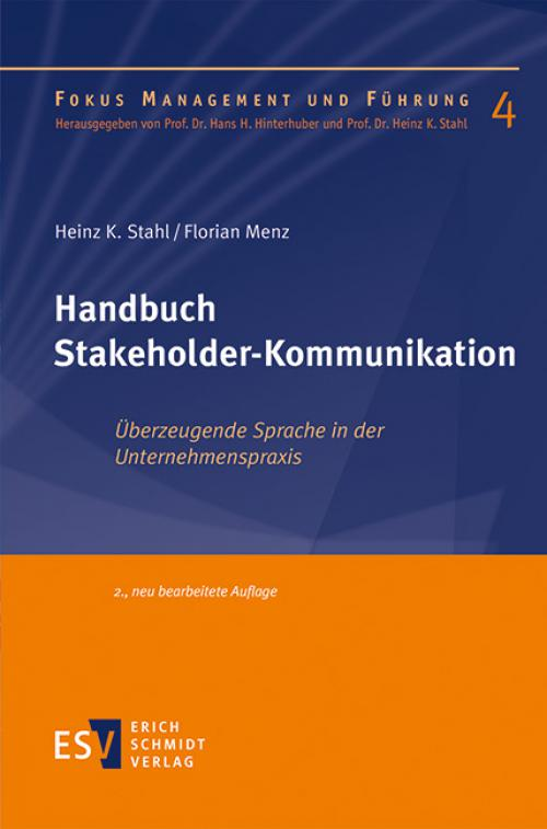 Handbuch Stakeholder-Kommunikation cover