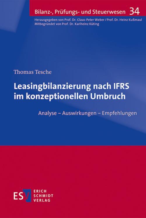 Leasingbilanzierung nach IFRS im konzeptionellen Umbruch cover