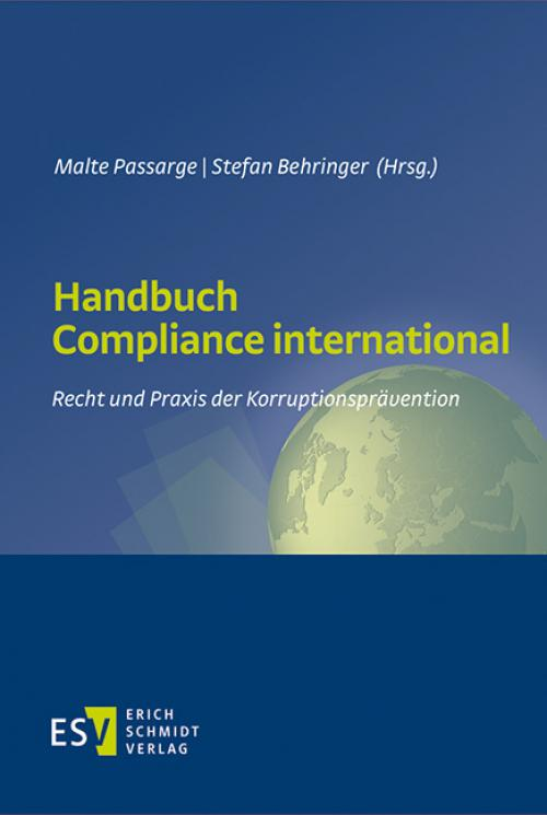 Handbuch Compliance international cover