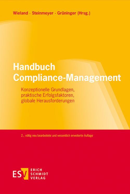 Handbuch Compliance-Management cover