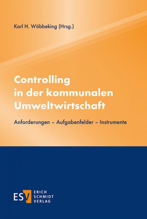 Controlling in der kommunalen Umweltwirtschaft cover