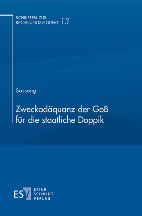 Zweckadäquanz der GoB für die staatliche Doppik cover