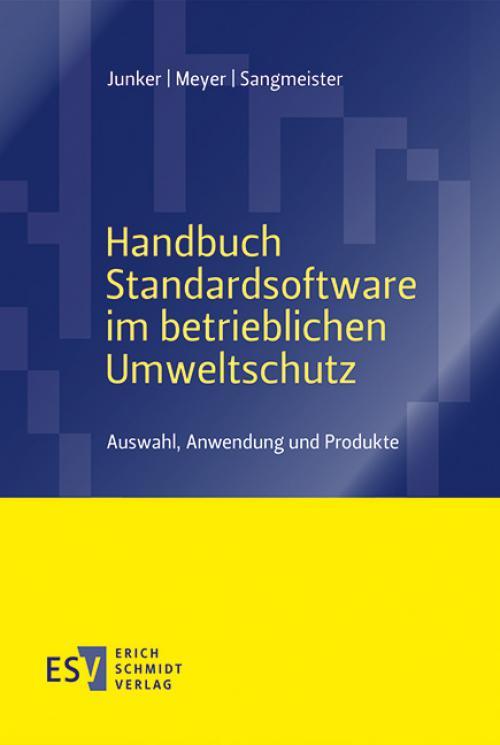 Handbuch Standardsoftware im betrieblichen Umweltschutz cover