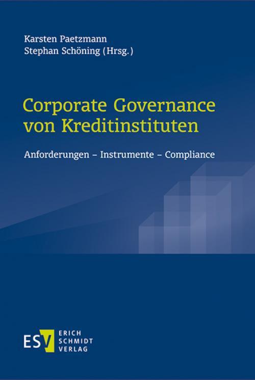 Corporate Governance von Kreditinstituten cover