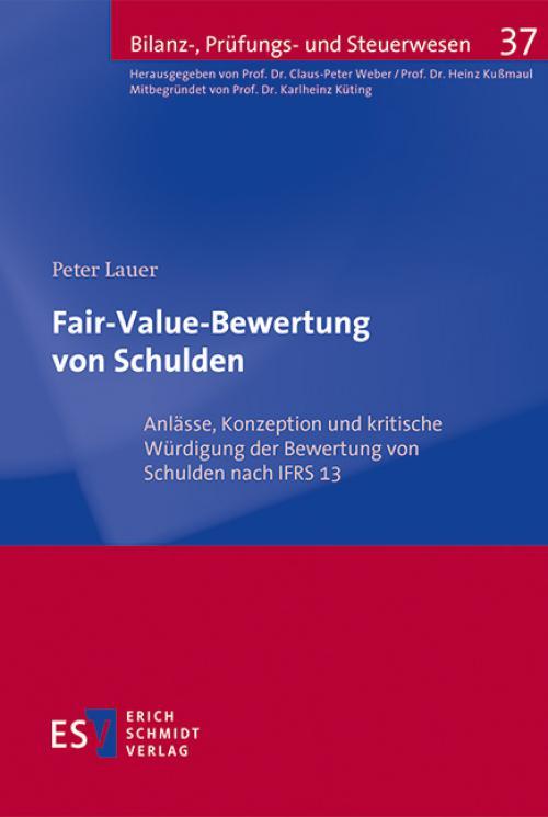 Fair-Value-Bewertung von Schulden cover