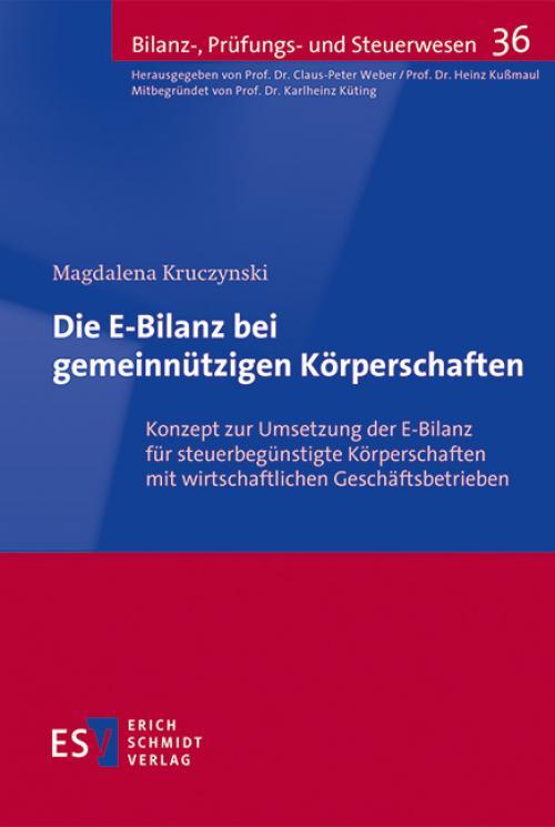 Die E-Bilanz bei gemeinnützigen Körperschaften cover