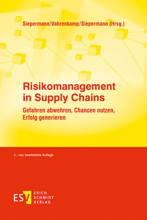 Risikomanagement in Supply Chains cover
