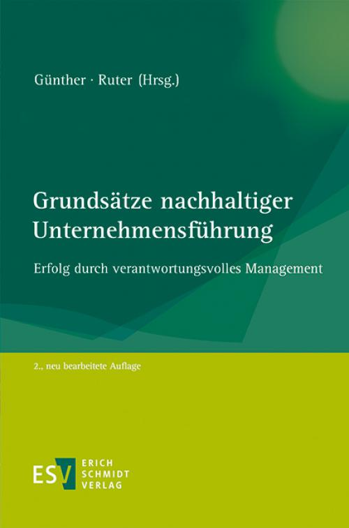 Grundsätze nachhaltiger Unternehmensführung cover