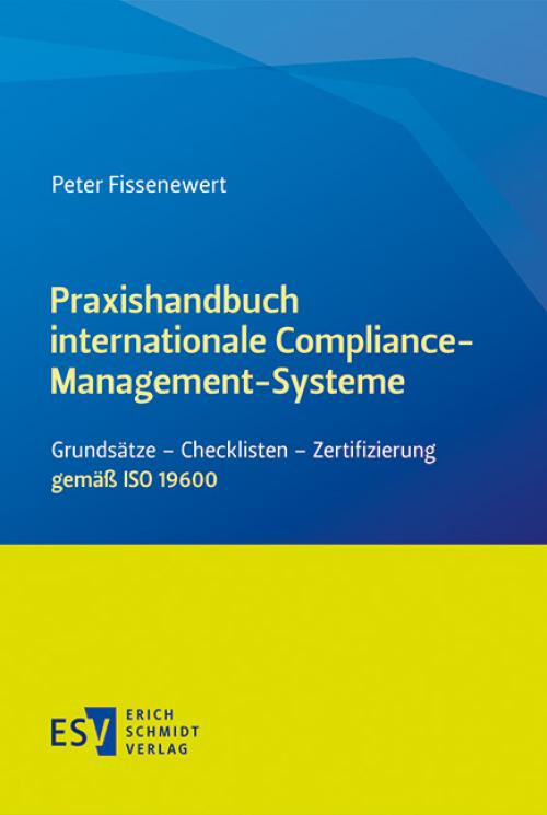 Praxishandbuch internationale Compliance-Management-Systeme cover