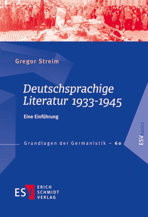 Deutschsprachige Literatur 1933-1945 cover