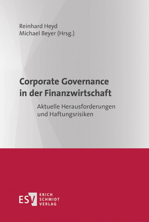 Corporate Governance in der Finanzwirtschaft cover