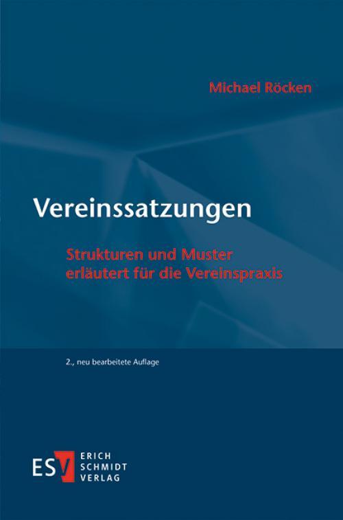Vereinssatzungen cover