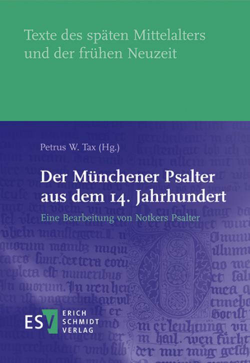 Der Münchener Psalter aus dem 14. Jahrhundert cover