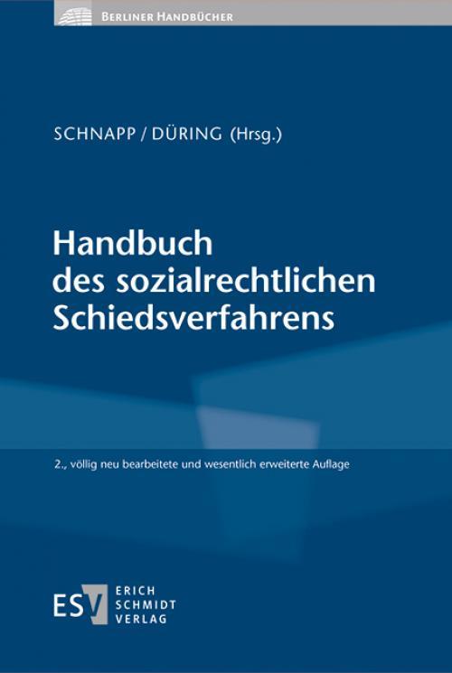 Handbuch des sozialrechtlichen Schiedsverfahrens cover