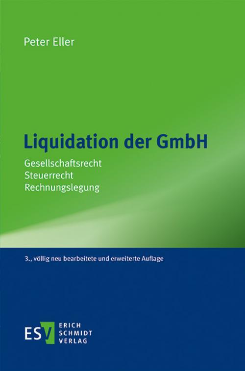 Liquidation der GmbH cover