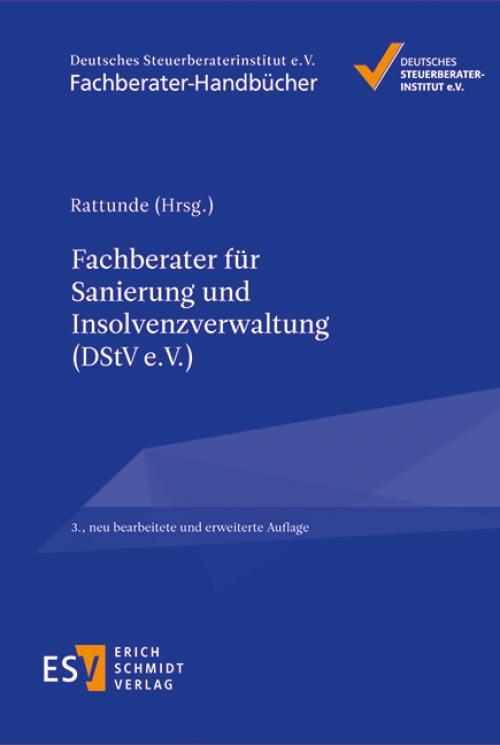 Fachberater für Sanierung und Insolvenzverwaltung (DStV e. V.) cover