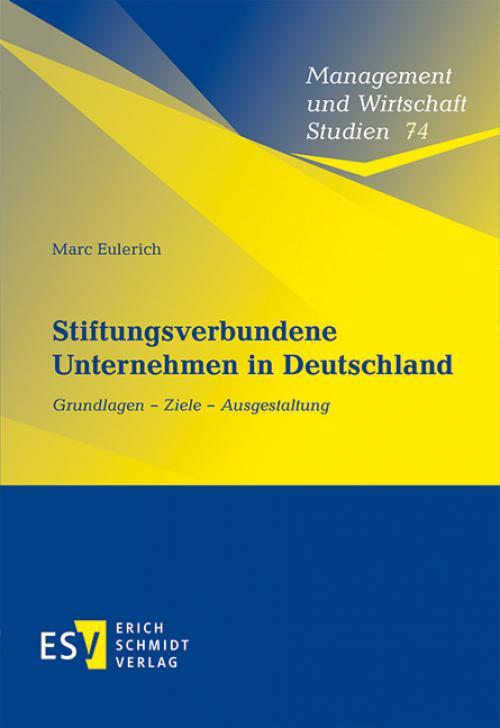 Stiftungsverbundene Unternehmen in Deutschland cover