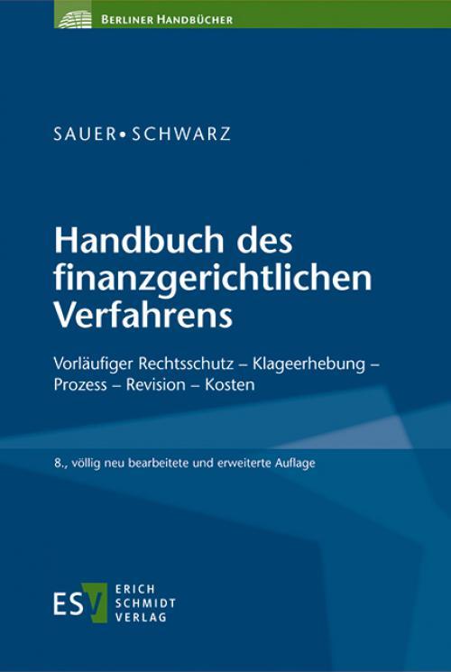 Handbuch des finanzgerichtlichen Verfahrens cover