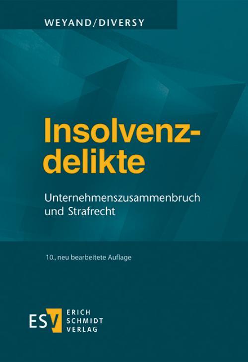 Insolvenzdelikte cover