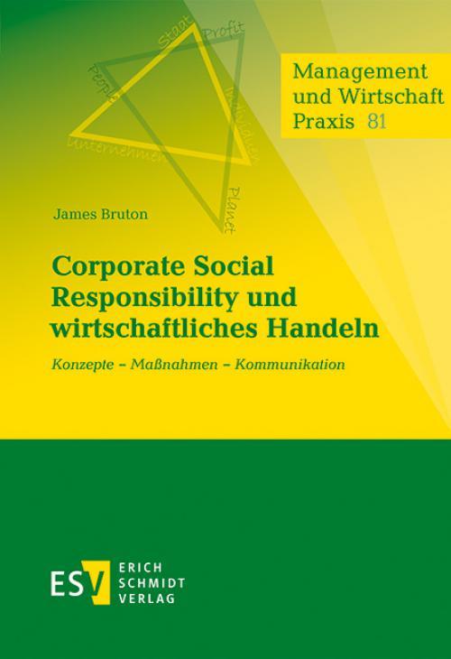Corporate Social Responsibility und wirtschaftliches Handeln cover