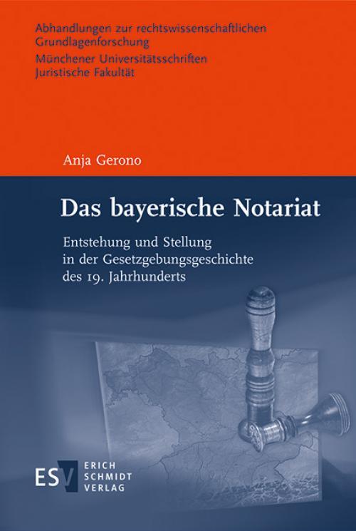 Das bayerische Notariat cover
