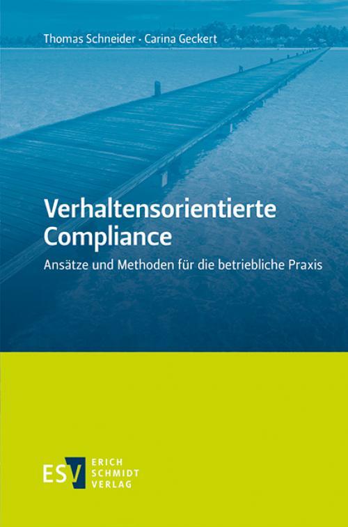 Verhaltensorientierte Compliance cover