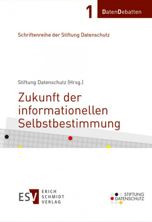 Zukunft der informationellen Selbstbestimmung cover