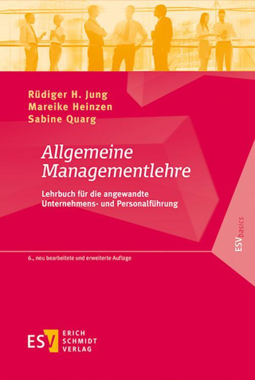 Allgemeine Managementlehre cover